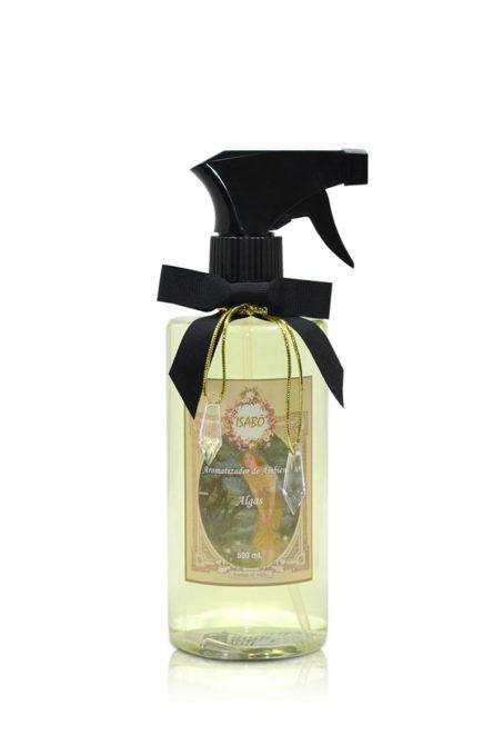 Aromatizador de Ambiente Algas Spray Preto | Isabô Aromas