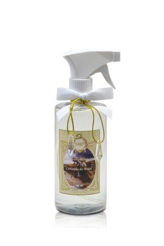 Aromatizador de Ambiente Castanha do Brasil Spray Branco | Isabô Aromas