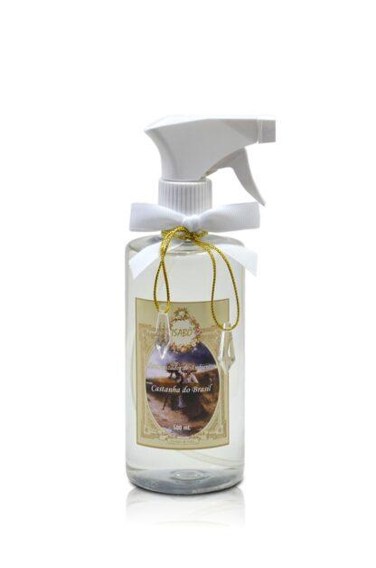 Aromatizador de Ambiente Castanha do Brasil Spray Branco   Isabô Aromas