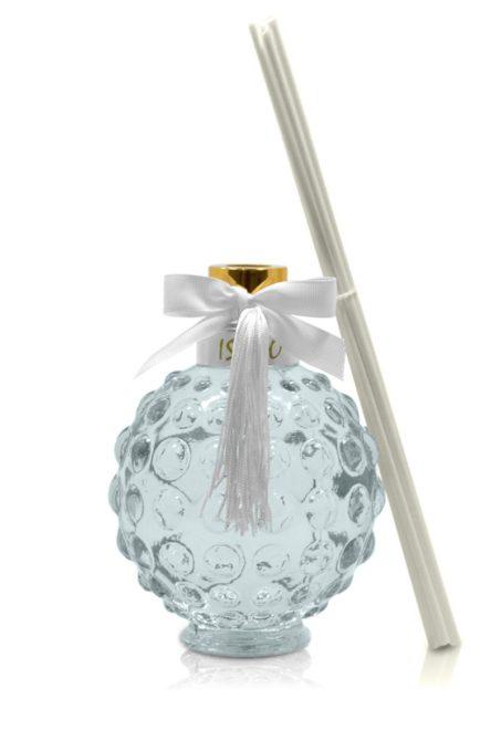 Difusor de Aromas Bamboo Luxo 530 mL Branco | Isabô Aromas