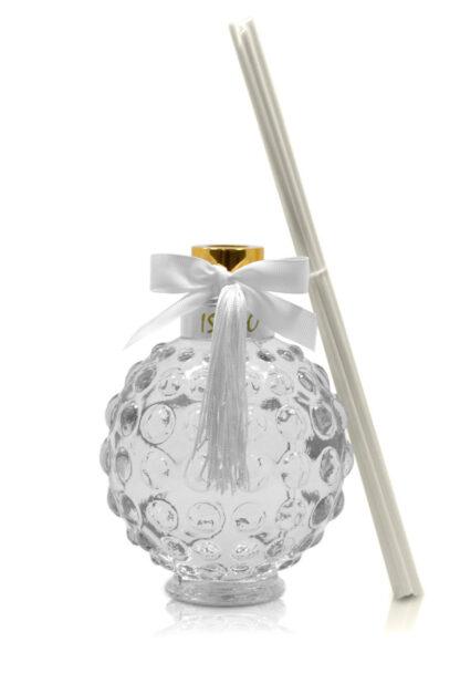 Difusor de Aromas Lavanda Luxo 530 mL Branco   Isabô Aromas